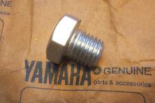YAMAHA AT1 AT2 AT3 CT1 MX125 MX175 GENUINE CRANKCASE SCREW PLUG - # 90340-12004