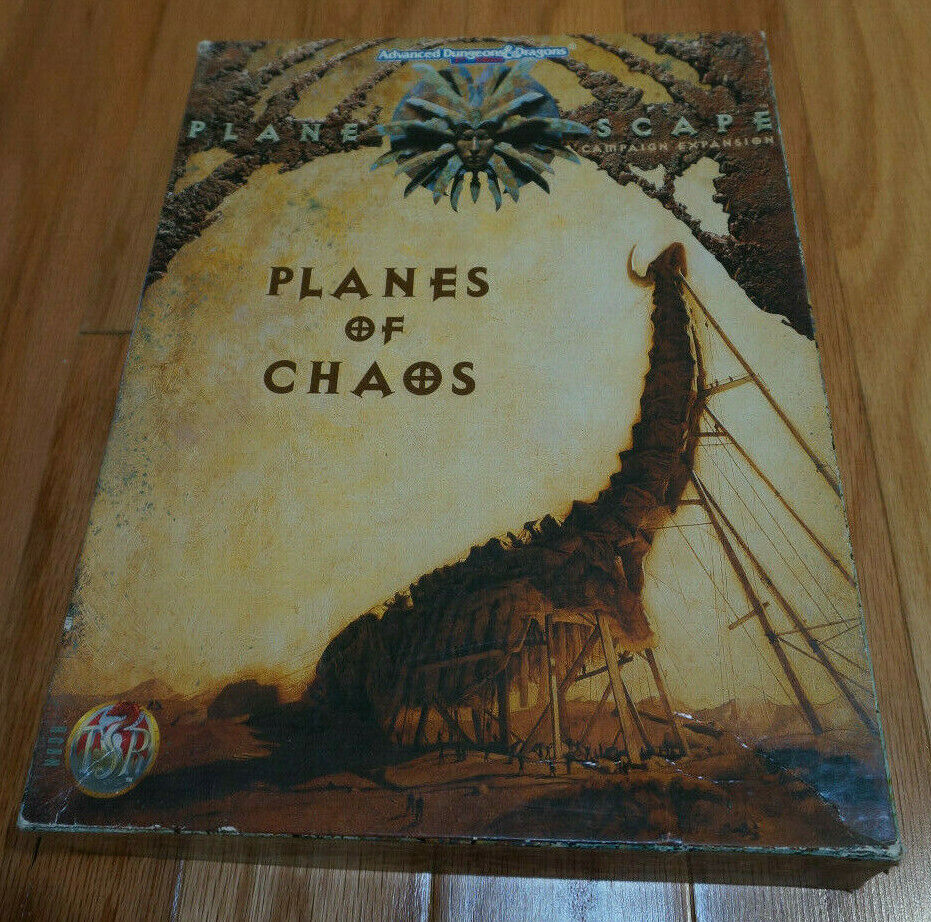 Dungeons Dragons 2. edizione (2E) Planes of Chaos scatolaed Set