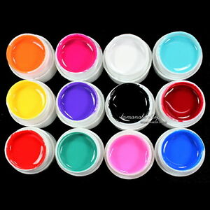 12-Pcs-Mix-Color-Pure-Solid-UV-Builder-Gel-Set-for-Nail-Art-False-French-Tips
