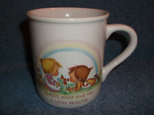 VINTAGE HALLMARK MUG MATES FRIENDS COFFEE CUP MUG 1983 BETSY CLARK - MADE JAPAN