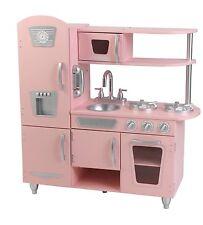KidKraft Pink Vintage Kitchen Pretend Play Life Like Children Kids Toy New