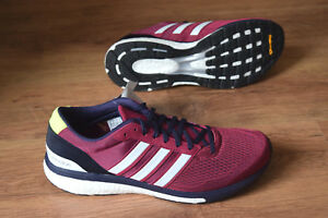Détails sur Adidas Adizero Adios 3 M 42 Berlin Marathon cm7430 Chaussures De Course Compétition Boston afficher le titre d'origine