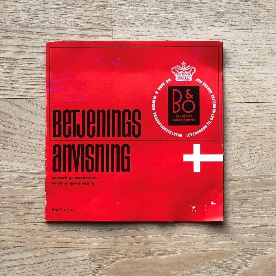 Båndmikrofon, Bang & Olufsen Beomic 5