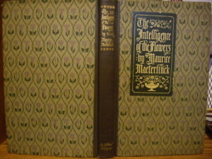 1907-034-The-Intelligence-of-the-Flowers-034-by-Maurice-Maeterlinck-VG-1st-Edition-HC