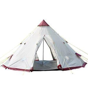 super popular 005a2 b5b6a Details about Skandika Teepee Wigwam Style Indiana Pyramid Desert Tent,  3000 mm Water Colum...