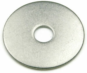 Stainless Steel Fender Washer Metric 5M x 15M, Qty 100