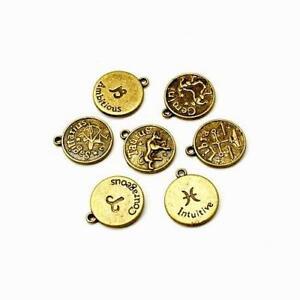 Zodiac Charm/Pendant Tibetan Antique Bronze 5-40mm  30 Grams Accessory Jewellery 5056052113484