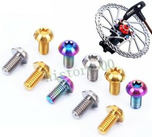 12Pcs Bicycle Brake Disc Screws Alloy Steel Bolt Rotor Cycling For Mountain Bike
