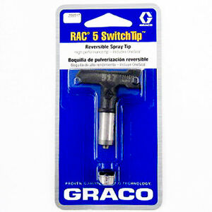 Details about Graco 286311 RAC 5 Reversible Switch Tip for Airless Paint  Spray Guns