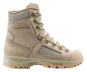 Courageux Chaussures Lowa Elite Desert Rangers Armée Randonnée Trekking Vous Garder En Forme Tout Le Temps