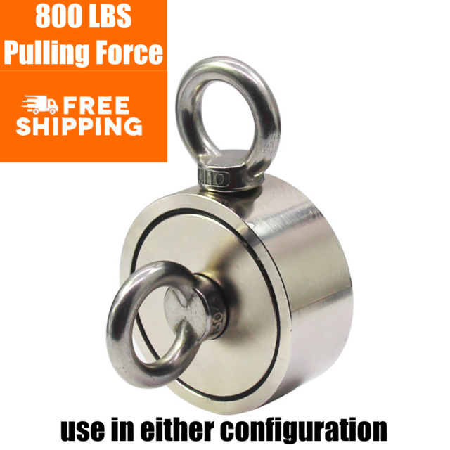 """NEW STRONG Round Base 3/"""" inch Magnet 95  lbs pull"""
