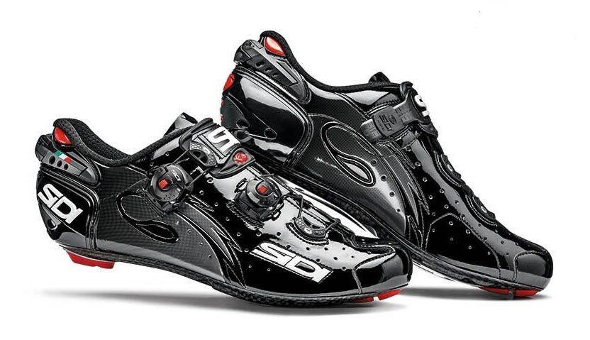 Nuevos Zapatos de ciclismo de Cochebono Sidi Alambre, EU40-44, Negro Negro