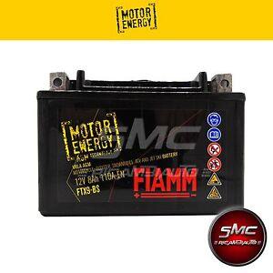 FTX9-BS BATTERIA MOTO FIAMM MOTOR ENERGY AGM YUASA YTX9-BS 12V 8Ah + LIQUIDO