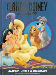 Classici Disney Fumetti Aladdin Lady and the Tramp