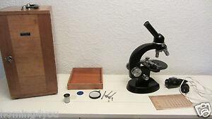 Microscopio hertel reuss ottica studio c kassel nr