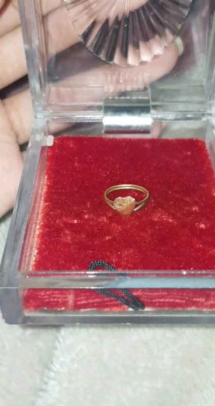Gold Baby's  ring