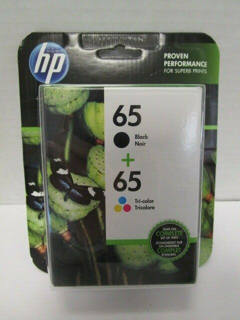 Hp 65 Tri Colour Ink Cartridge