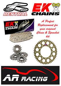 Honda CBR 600 RR 2009 2010 2011 2012 Renthal /& DID Chain /& Sprocket Kit