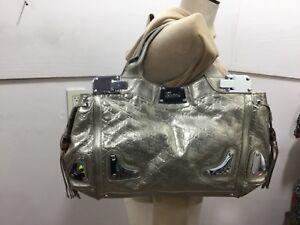 Precioso de bolso oro cuero de detalles con xFzxCng