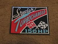 1962 Chevrolet Corvair Spyder 150hp Turbo Engine Air Cleaner Decal Sticker Early