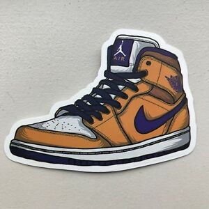 buy popular 631a6 084e7 ... switzerland lakers nike air jordan 1 retro purpura oro 7cfda 1988b