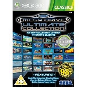 Sega Mega Drive Ultimate Collection Xbox 360 Game Complete For Sale