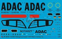 Peddinghaus 1/32 Ec135 P2 German Rescue Helicopter Markings D-hgyn Adac Rth 2849