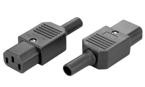 Connettore VDE Femmina 220 Volt 10 Ampere IEC