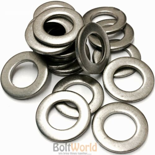 150 OF /'MIXED IN THE PACK/' A2 STAINLESS STEEL M3 M4 M5 M6 M8 FORM A FLAT WASHER