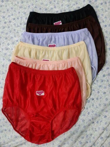 "6Pcs Light Underwear Women/&Man Soft Nylon Comfortable Quick Drying Hip 34/""-40/"""