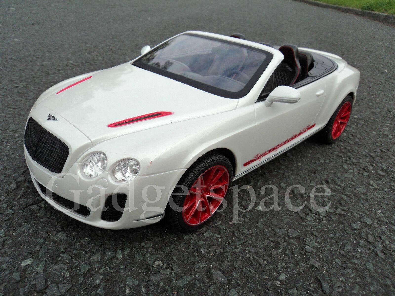 Bentley Convertible Convertible Convertible GT Recargable De Radio Control Remoto Car 1 14 RC Coche  ganancia cero