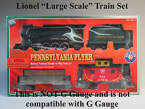 Details about LIONEL LARGE SCALE PRR FLYER FREIGHT READY TO PLAY TRAIN SET  steam 7-11808