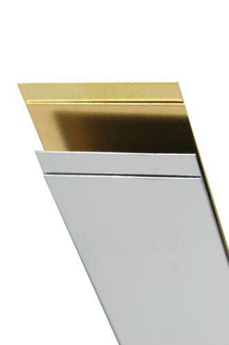 x 1//2 in K/&S  0.028 in L Stainless Steel  Metal Strip W x 12 in