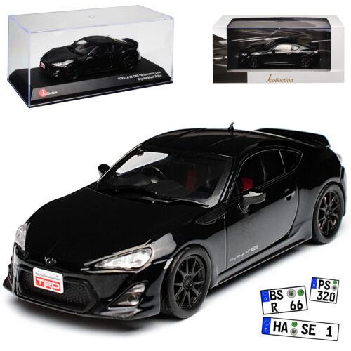 Toyota gt86 TRD performance negro a partir de 2012 1//43 Kyosho J-Collection modelo coche
