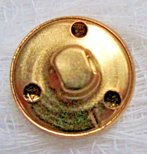 Polo Ralph Lauren light  brass 1 cuff button for  blazer jacket or suit