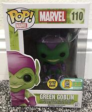 SDCC 2016 Exclusive Marvel Green Goblin #110 Funko Pop Glow in the dark GITD