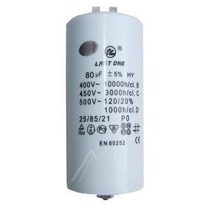 CP80# condensateur moteur 80uF 450VAC CBB60 démarrage moteur