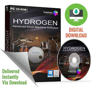 hydrogen advanced drum machine loop beat creation software download ebay. Black Bedroom Furniture Sets. Home Design Ideas