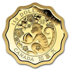 """Canada 2016 - 150$ Blessings Of Good Health """"8"""" - 1/3 Oz Pure Gold Coin"""
