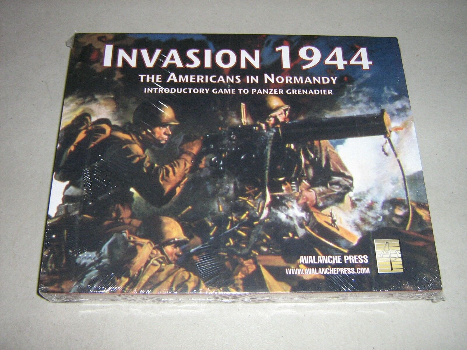 Invasion 1944  The Americans in Normandy [Panzer Grenadier Intro] (New)