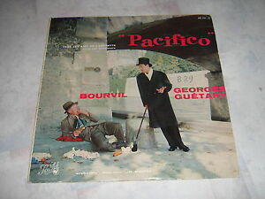 BOURVIL-GEORGES-GUETARY-33-TOURS-FRANCE-PACIFICO