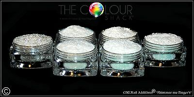 GNI Nail Additives® *Shimmer me Fingers* 💅 Suitable for ALL Nail Mediums