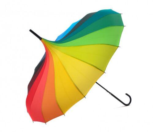 LOVELY PAGODA RAINBOW DESIGN  UMBRELLA