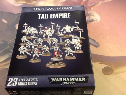 NIB 40K Tau Empire Start Collecting