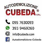 AUTODEMOLIZIONE CUBEDA SRL