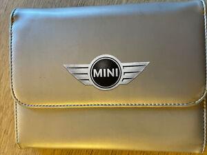 BMW MINI OWNERS HANDBOOK MANUAL WALLET CASE GENUINE BMW MINI CASE WALLET BMW