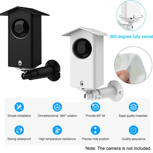 Waterproof Security Camera Protective Case Wall Mount Bracket For Wyze Cam Pan