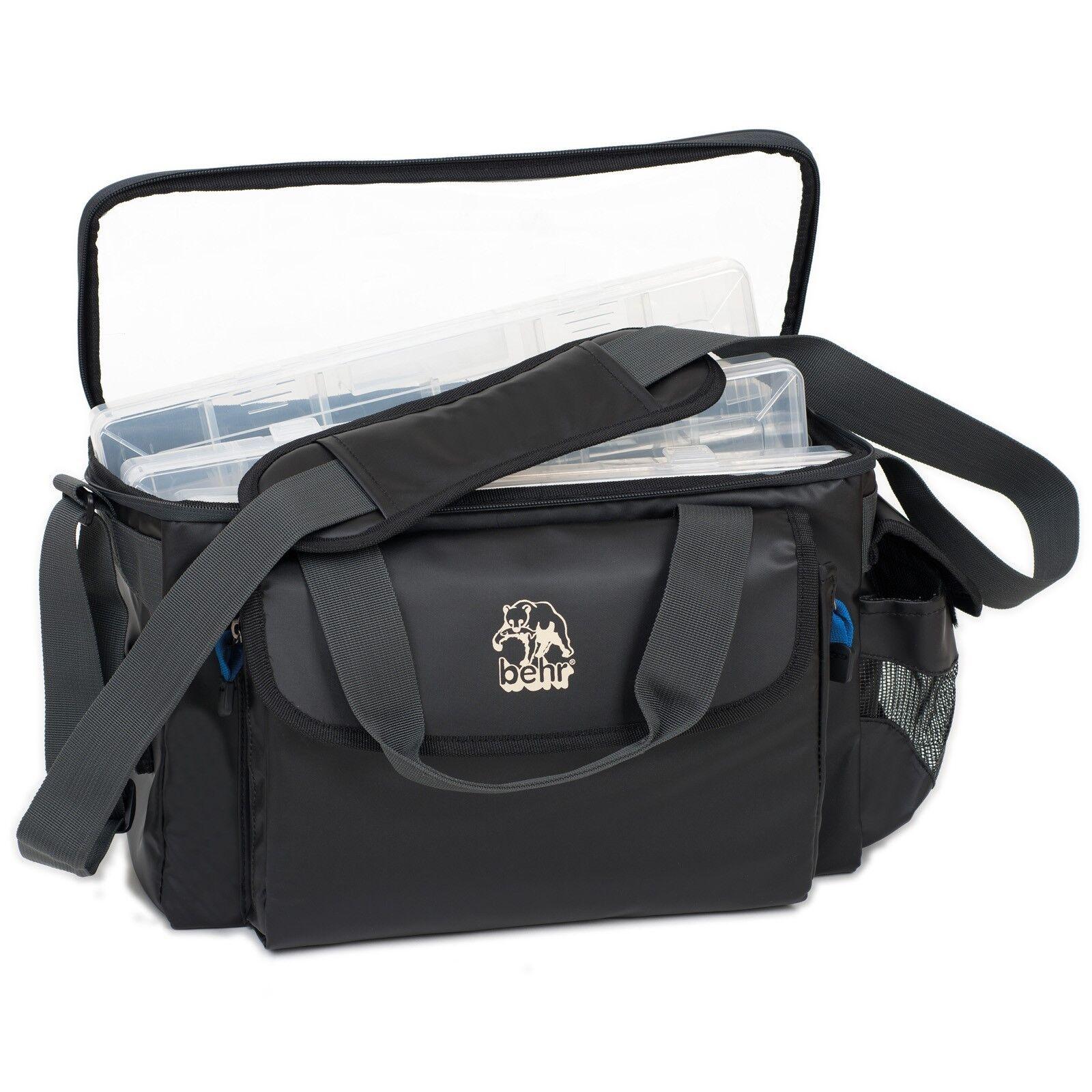 Behr Salzwasser Zubehör Tasche Wasserdicht Angeltasche mit3 Zubehörboxen 5738205