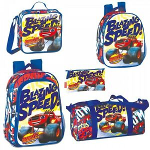 Blaze And The Monster Machines SPEED Backpack Rucksack