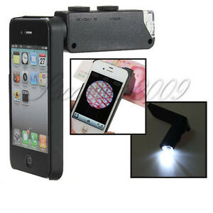 60x-100x-ZOOM-Digital-Microscope-Micro-Camera-Lens-amp-LED-For-iPhone-4-4S